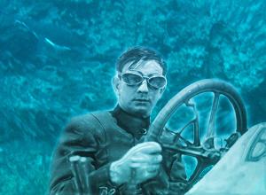 subaqueous auto racing photo