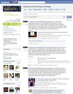 HeidiCool.com Facebook Page