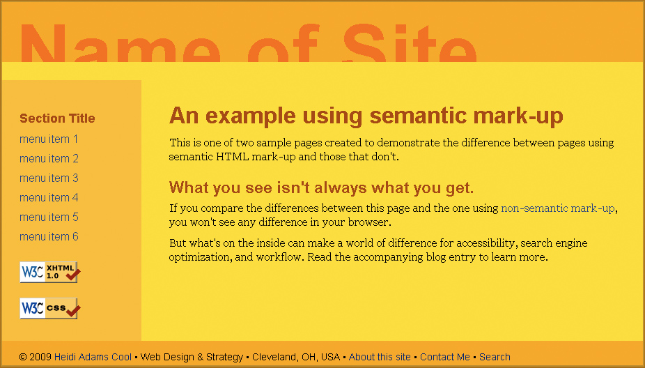 Making Sense Of Semantic Html An Introduction For Clients And New